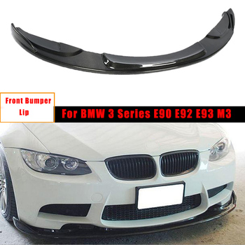 Body Kits Carbon Fiber Front Bumper Lip Diffuser for BMW 3 Series E90 E92 E93 M3 2007 - 2013 Car Accessories image