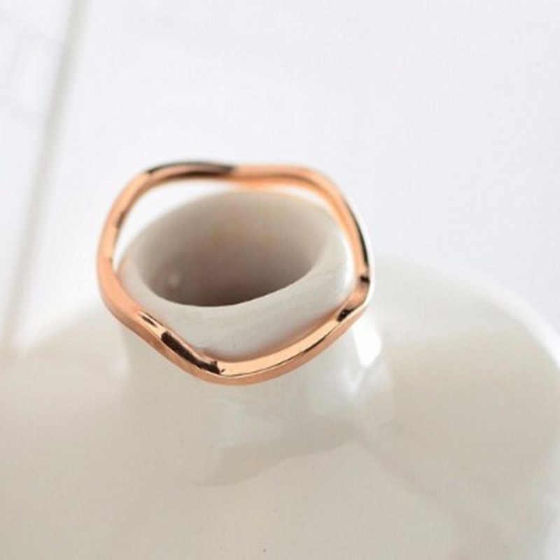 แฟชั่น 2019 ใหม่และ elegant คู่แหวนหางแหวน pinky joint ขายส่งเครื่องประดับ