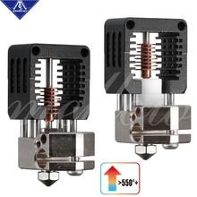 Mellow All Metal NF Crazy Hotend V6 Copper Nozzle For Ender 3 CR10 Prusa I3 MK3S Alfawise Bmg Extruder 3D Printer Parts