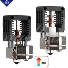 רך כל מתכת NF Crazy Hotend V6 נחושת זרבובית עבור אנדר 3 CR10 Prusa I3 MK3S Alfawise Bmg מכבש 3D מדפסת חלקי