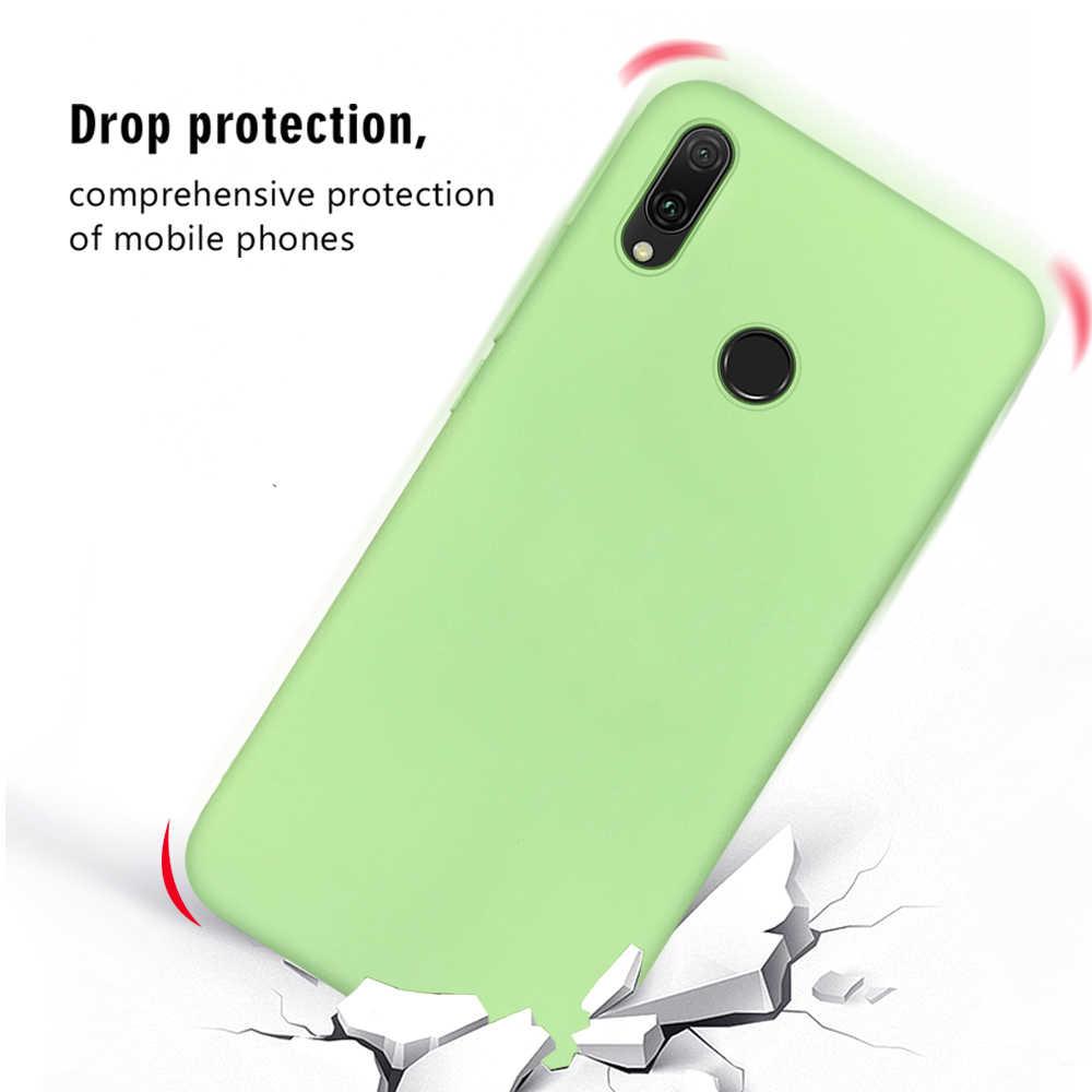 Opaco di Colore Della Caramella Del Silicone di TPU Custodie Per Huawei Compagno di 20 10 P10 P20 P30 Lite Per Il Caso di Huawei P20 Lite 2019 P30 P20 Compagno di 20 Pro