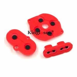 Image 5 - Couleurs caoutchouc conducteur bouton A B d pad pour jeu garçon couleur GBC coque boîtier silicone démarrage sélectionnez clavier