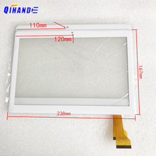 "Painel de toque para tablet 10.1 "", CH 10114A5J S10 CH 10114A5 zs 2.5d touch screen digitador sensor J S10 CH 10114A5 bh4838"