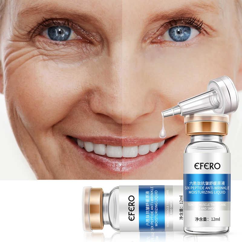 الكولاجين الببتيدات الوجه مصل كريم مكافحة الشيخوخة التجاعيد رفع ثبات تبييض كريم وجه ترطيب جوهر العناية بالبشرة