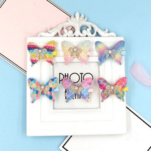 Butterfly Design Hairclips Women Hair Clip Cartoon Hairpin Girls Hairpins Barrette Hairgrip Colorful Bobby Pin Accessories