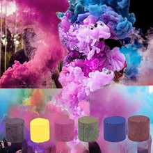 Colorful Smoke Pills Combustion Smog Cake Effect Smoke Bomb Pills Portable Photography Prop Halloween Props Party Supplies#10