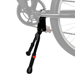 Bicicleta kickstand bicicleta de estrada kickstand resistente ajustável mountain bike bicicleta ciclo prop side traseiro estacionamento rack