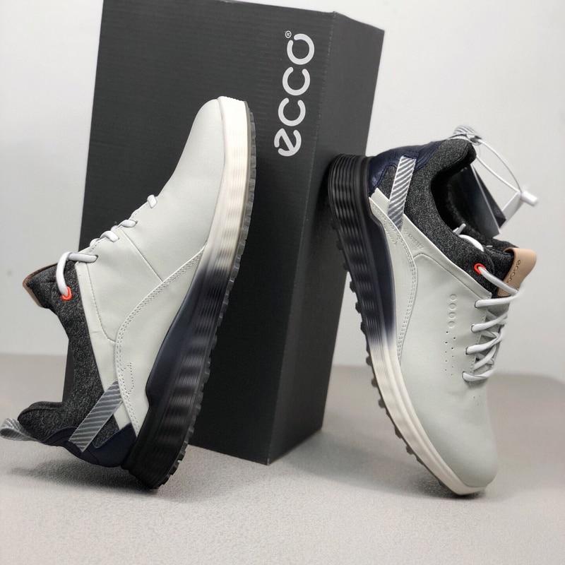 Genuine Leather Golf Shoes Men Size 39 46 Comfortable Walking Sneakers Anti Slip Golf Sneakers Mens Walking Shoes