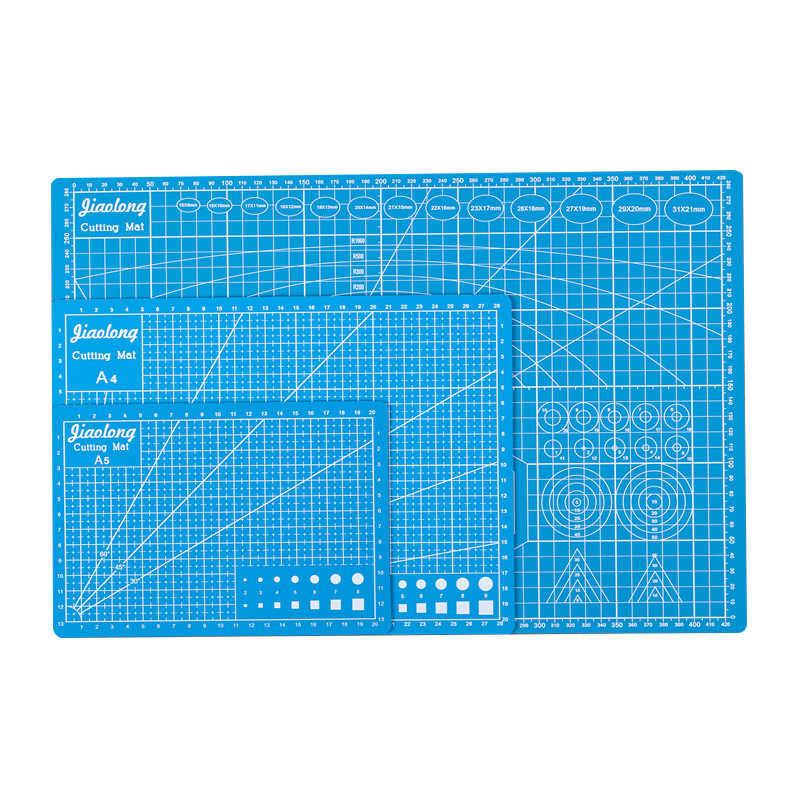 Cutting Board A3 A4 A5 Pvc Cutting Mat Pad Patchwork Cut Pad A3 Patchwork Tools Manual Diy Tool Cutting Board Double-sided Self-healing-blue-a3-a3