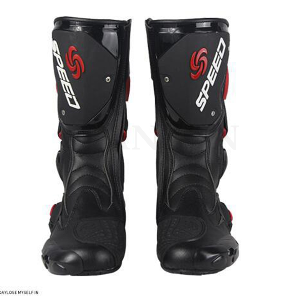 Buty motocyklowe wodoodporne buty Speed Bikers moto R moto rcyle acing skóra motocrossowa buty moto cross buty wyścigowe