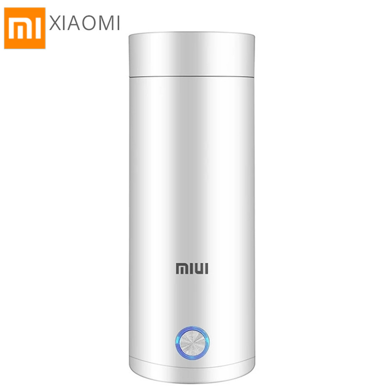 XIAOMI Mijia MIUI Portable Electric Kettle Thermal Cup Coffee Travel Water Boiler Temperature Control Smart Water Kettle Thermos