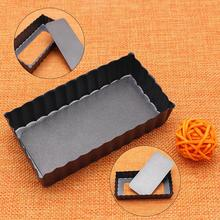 4-Inch Rectangular Salad Cheese Tool Die Cupcake Mold Diy Hot Sale Stainless Steel Bakeware Tools Baking 1pc Cake