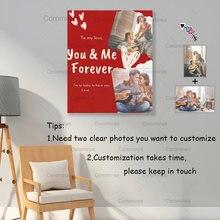 Двойные холст для картины на индивидуальный заказ «you & me