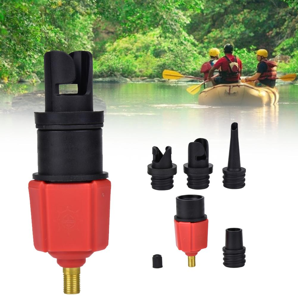 SUP Safety Air Inflator Raft Replacement Pump Adapter Air Valve Adapter For Surf Paddle Board Dinghy Canoe Inflatable Boat