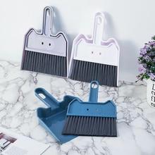 Dustpan-Set Floor-Cleaner Desk Keyboard Sweep-Cleaning-Brush Small Household Mini Computer-Pratical-Tool