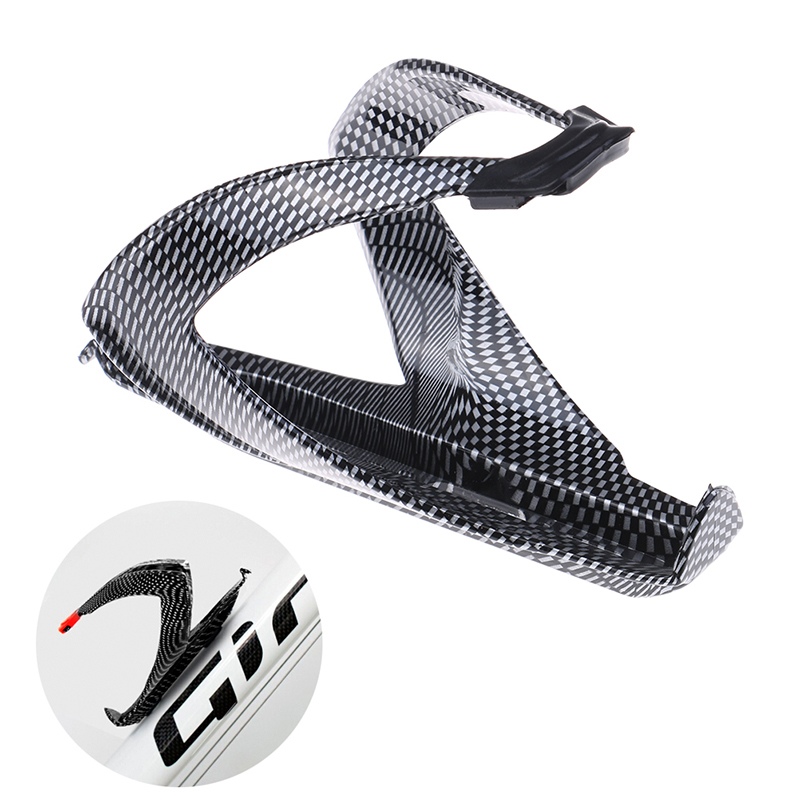 Carbon Fiber Road  Bicycle Bike Cycling Water Bottle Drinks Holder Rack CageHNS