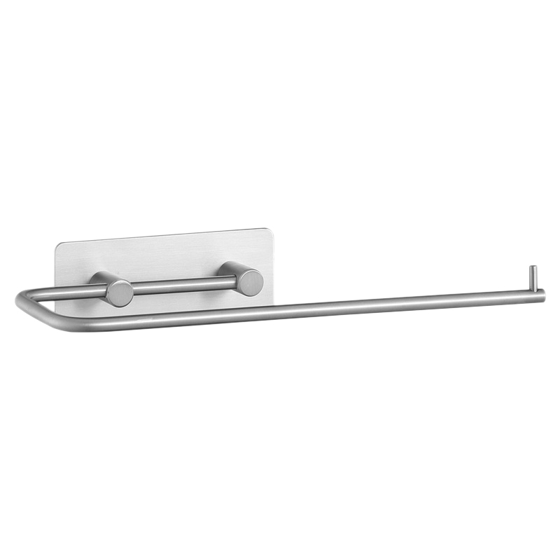 Paper Towel Holder Wall Mounted Under Cabinet Stainless Steel For Kitchen Bathroom Adhesive No Drilling 11.2X4X1.6Inches