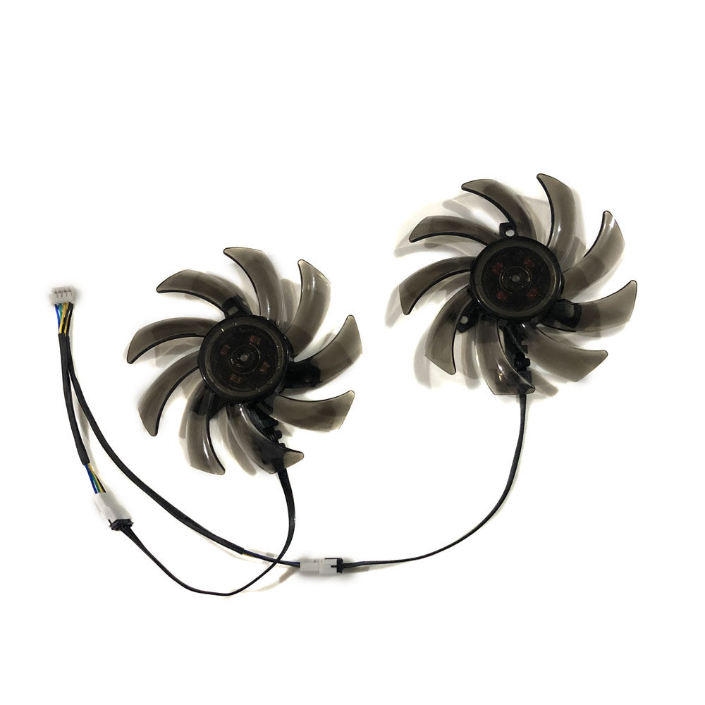 GTX1080 <font><b>GTX1070Ti</b></font> GPU Card Alternative Cooler Fan For PALIT PNY <font><b>GTX1070Ti</b></font> GTX 1080 1060 XLR8 Gaming DUAL Graphics Card Cooling image