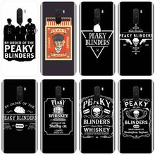 Peaky Blinders Cross 로고 샤오미 redmi 용 소프트 실리콘 TPU 폰 케이스 note 5A 6 7 8 Pro 4A 4X 5 5Plus 6 6A Cover Shell(China)