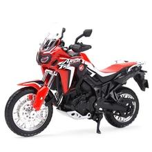 Maisto 1:18 Honda Africa Twin DCT 1100XX 600F Коллекционная модель мотоцикла, игрушки