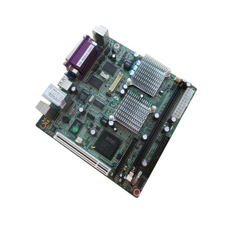 ITX industrie motherboard DDR LVDS PCI 4 * COM PS/2 VGA LPT USB IDE