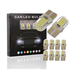 1 шт. T10 светодиодный COB W5W 194 8SMD автомобильный Светильник Ширина автомобиля Дверная лампа светильник для чтения поворотный боковой сигнальны...