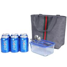 Portable Thermal Lunch Bags Insulated Food Picnic Cooler Storage School Lunch Box Bag Large Tote Lunch Bag for Woman Men Kids dispalang violin print school backpack for girls thermal lunch sack bag for children kids insulated cooler bag bookbag michilas