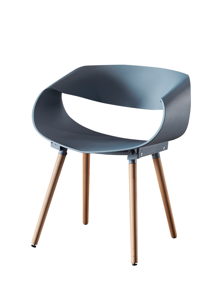 Infinite Chair Leisure Cafe Exhibition 4S Shop Negotiation Conference Sales Department Leisure Chair Modern Nordic Leisure Solid
