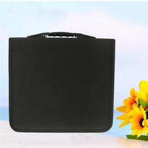 Image 5 - 1pc 320 דיסקים CD ארנק עור מפוצל נייד Dustproof גדול קיבולת CD קלסר CD מקרה תקליטור אחסון מחזיק DVD מחזיק