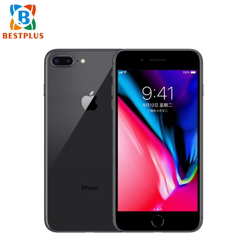 Apple iPhone 8 Plus A1864 Sprint Version 4G LTE Mobile Phone 5.5 3GB RAM 64GB/256GB ROM Hexa-core Fringerprint NFC 12 MP Phone image