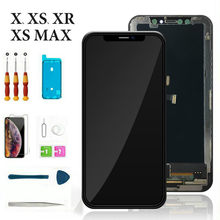 Neng Replacement Parts Display For iPhone X XS LCD Digitizer Touch Lens Screen Assembly with Frame For iPhone XR XsMax(China)