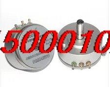 Potenciómetro plástico conductivo de precisión WDD35D4, WDD35D-4, envío gratis, 0.5%