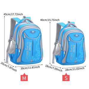 Image 5 - Primary Students Schoolbag Big Capacity Children Backpack Bag Reduce the Burden of Books Waterproof Pack for Teenager Girls Boys