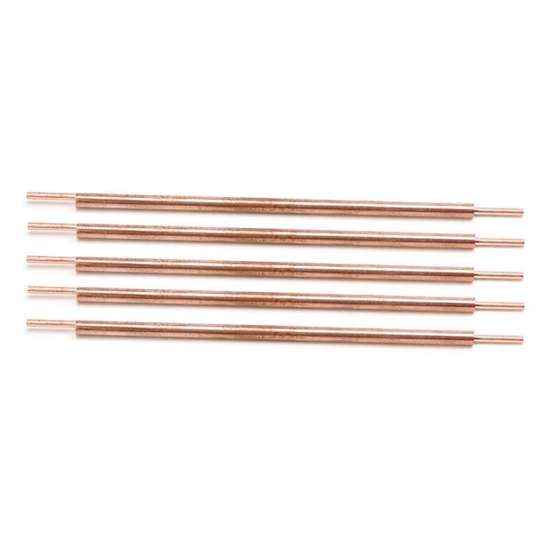 5pcs 3x100 Welder Spot Welding Pin Welding Accessories Alumina Copper Welding Feet