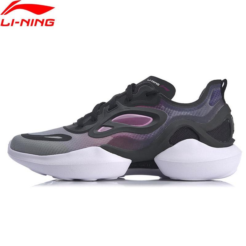 Li-Ning Women RISING STAR 2020 Stylish Lifestyle Shoes The Trend LiNing Sport Leisure Shoes li ning Sneakers AGLQ038 YXB385