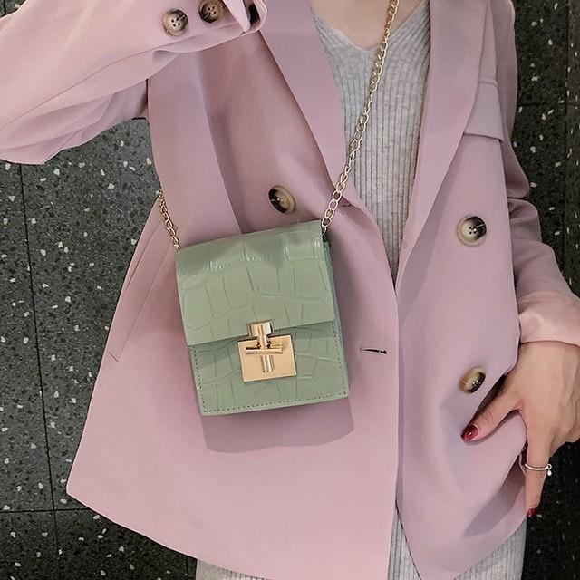 Bolso de moda para mujer ,color sólido