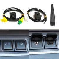 For RCD510 RNS315 USB AUX switch cable USB audio adapter for VW Passat B6 B7 Golf 5 6 Jetta MK5 MK6 Polo CC USB connector