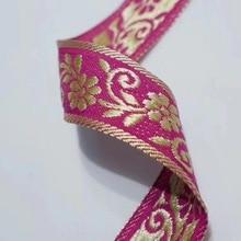 цена на 3cm folk style national style jacquard ribbon, XERY190831A