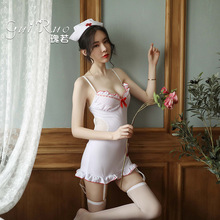 3 Piece In Set Nurse Uniform White Sexy Kawaii Lingerie Doctor Costume Cosplay Sex Skirt Japanese