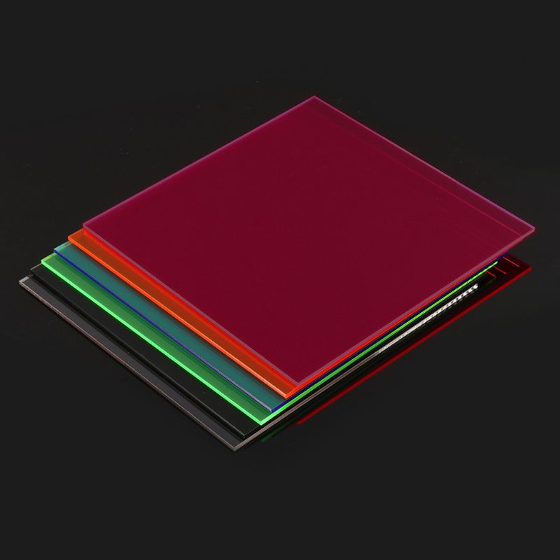 15×15cm Plexiglass Board Colored Acrylic Sheet DIY Model Making Plexiglass Board