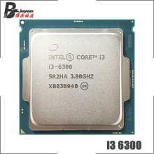 CPU Processor Intel-Core Lga 1151 I3-6300 Quad-Thread Ghz 4M 51W
