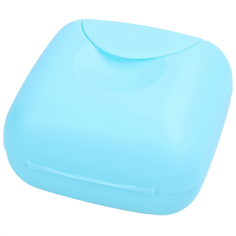 Plastic Soap Case Holder Container DishTravel  Box High Quality  TEAL BLUE