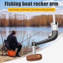Replacement Reel-Handle Wood-Knob Metal-Spinning Pesca Repair-Parts LINNHUE for 1000-6000