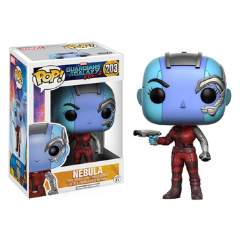 Funko Pop Guardians of the Galaxy Vol. 2 NEBULA #203 Vinyl Action Figure Dolls Toys 1