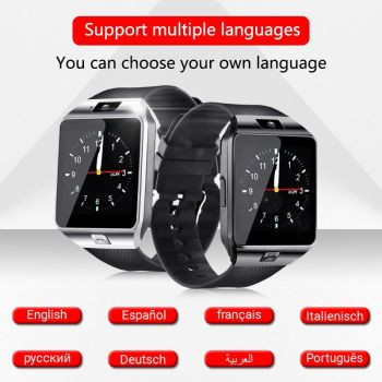 Bluetooth DZ09 Smart Watch Relogio Android smartwatch phone fitness tracker reloj Smart Watches subwoofer Consumer Electron 1