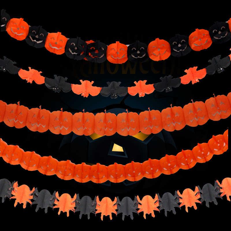 2019 caldo di Alta Qualità di Decorazione Del Partito di Halloween Ragno Zucca Spaventoso Strega Ghirlanda di Halloween Decorazione Del Partito Prop Utile