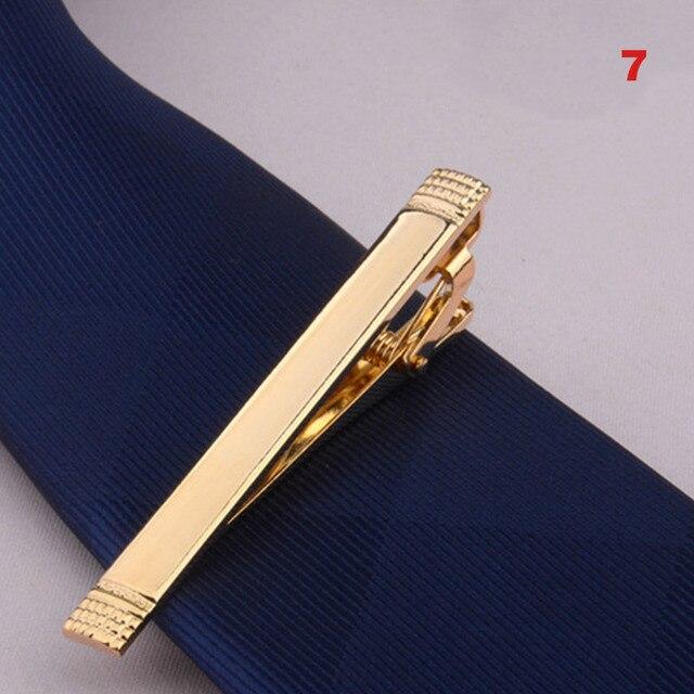 Зажим для галстука из металлического сплава, зажим для галстука, для свадьбы, деловой стиль 6