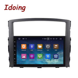 Image 4 - Idoing Android 9,0 4G + 64G Octa Core 2 din Für MITSUBISHI PAJERO V97 2006 2014 Auto multimedia Radio Player HDP GPS + Glonass keine dvd