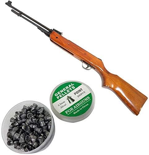 Национальный стандарт продукции ствол пневматическая винтовка с прицелом, 1200fps, настоящий деревянный сток, 200 бесплатно гранул стены оловянный знак