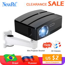 цены Mini Projector Home Theater Projector Android Wifi Beamer 3D HD LED Proyector with HDMI USB VGA AV Port Clearance Video TV